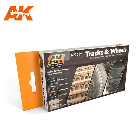 Track and Wheels Acrylic Set (AK Interactive)