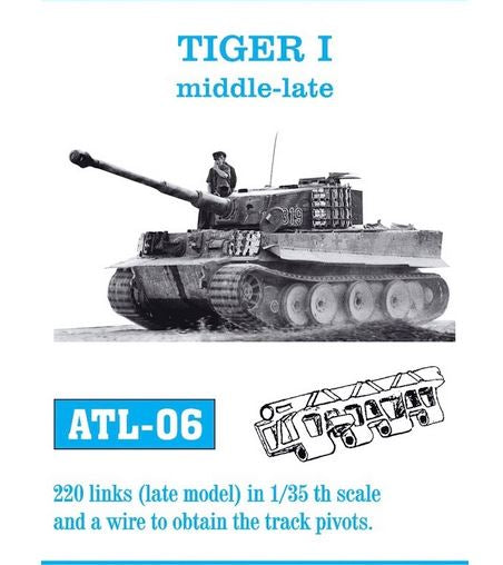 Tiger I Mid-late Track Set (Fruil Model)