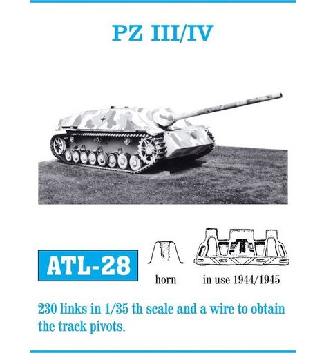 Pz III/IV Mod. 1944/45 Track Set (Fruil Model)