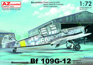 "1/72 Messerschmitt Bf-109G-12 ""Two-Seater"" (AZ Model)"