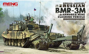 Russian BMR-3M Armored Mine Clearing Vehicle (Meng Model)