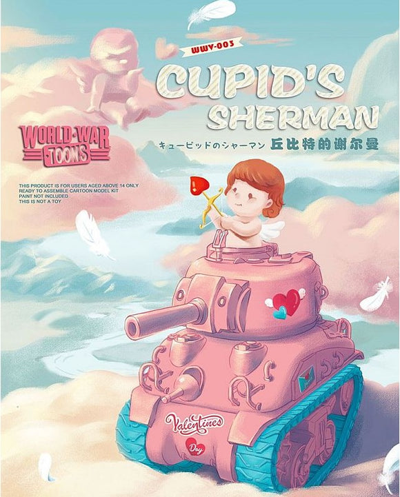 World War Toons Cupid's Sherman (Meng Model)
