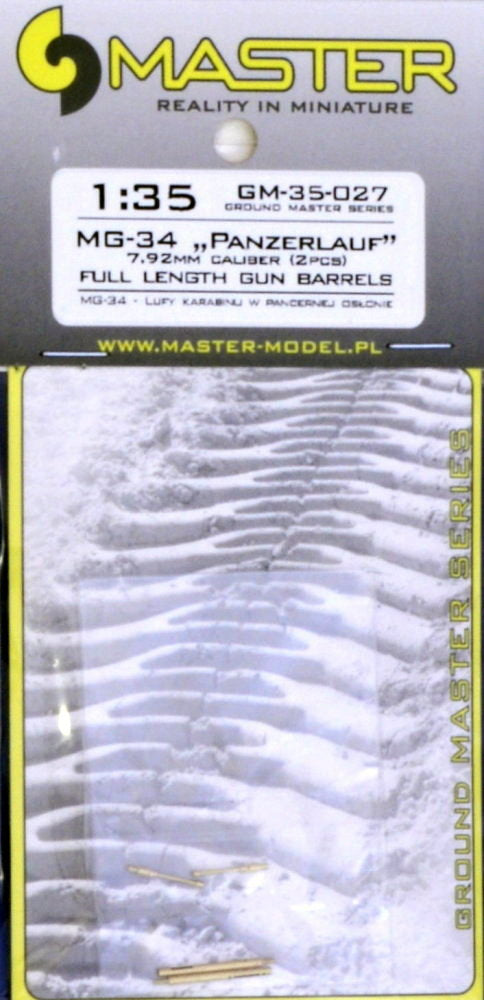 MG-34 'Panzerlauf' Full Length Gun Barrels (Master)