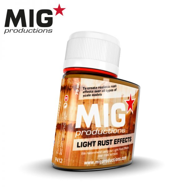 Light Rust effects - 75ml (Mig Productions)
