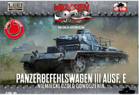 1/72 Panzerbefehlswagen III Ausf.E Command Tank (First to Fight)
