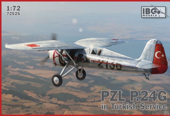 PZL P.24G in Turkish Service (IBG)