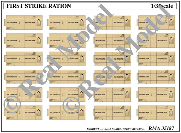 First Strike Ration (Real Model)