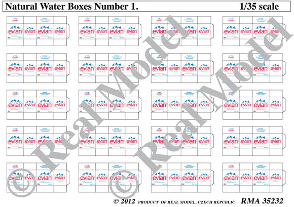 Natural Water Boxes No. 1 (Real Model)