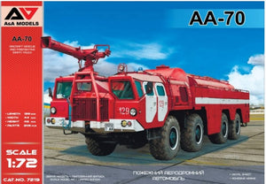 AA-70 Aircraft Rescue and Firefighting (ARFF) Truck (A&A Models)