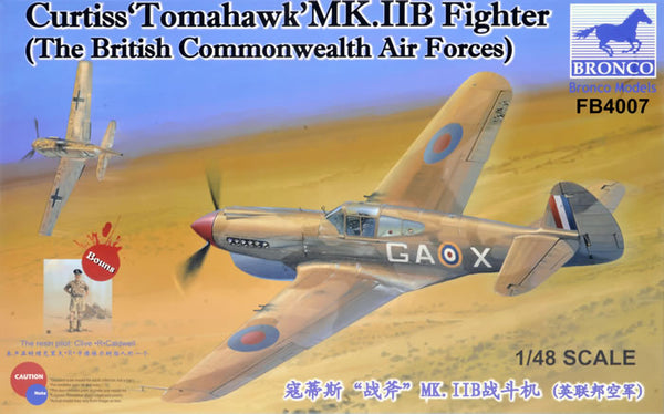 "Curtiss ""Tomahawk"" Mk.II B Fighter (Bronco)"