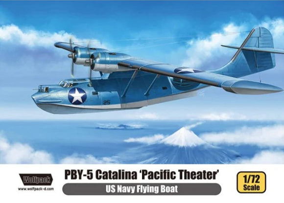 US Navy Flying Boat PBY-5 Catalina 'Pacific Theater' Premium Edition Kit (Wolfpack)
