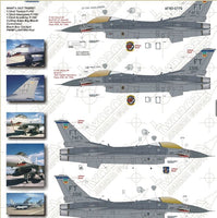 F-16C Big Mouth Big Mouths Part II (Two Bobs Decal)