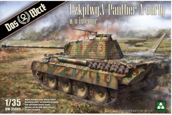 PzKpfw.V Panther A Early w/o interior (Das Werk)