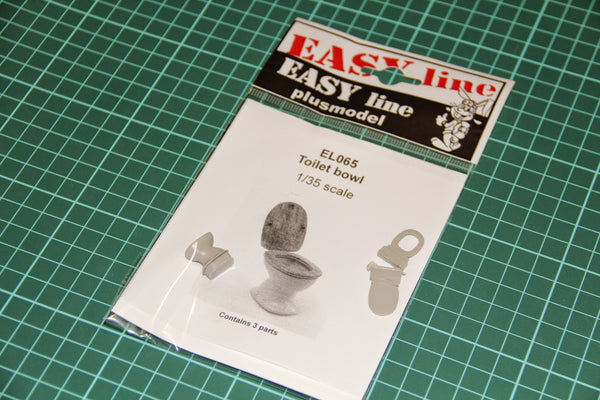 1/35 Toilet Bowl (Plus Model)