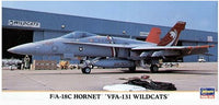 F/A-18C Hornet VFA-131 Wildcats (Hasegawa)