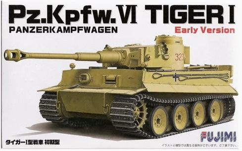 Pz.Kpfw.VI Tiger I Early Version (Fujimi)