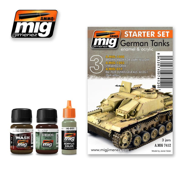 German Tanks -Starter Set (Ammo Mig)