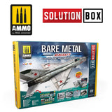 Bare Metal Aircraft. Colors and Weathering System Solution Box (Ammo Mig)