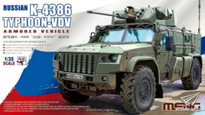 Russian K-4386 Typhoon-VDV Armored Vehicle (Meng Model)