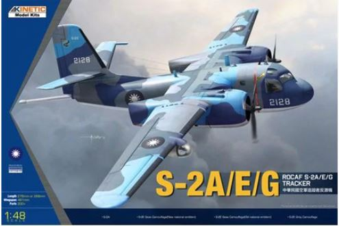 ROCAF S-2A/E/G Tracker (Kinetic)