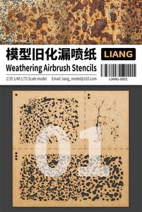 Weathering Airbrush Stencils (Liang Model)