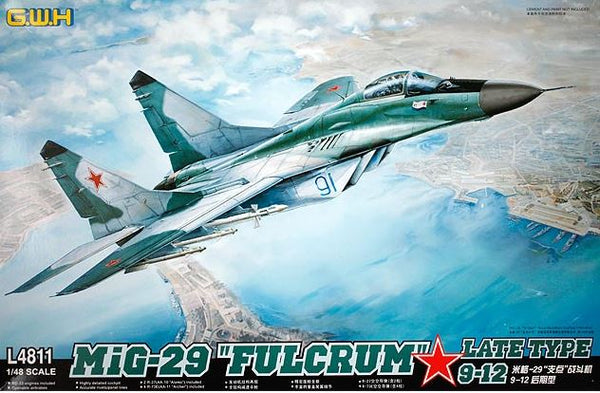 "MiG-29 ""Fulcrum"" Late Type 9-12 (Great Wall Hobby)"