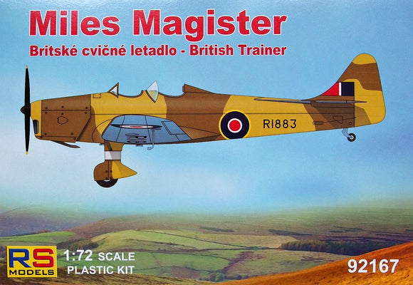 Miles Magister - British Trainer (RS Models)