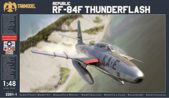 Republic RF-84F Thunderflash (Tanmodel)