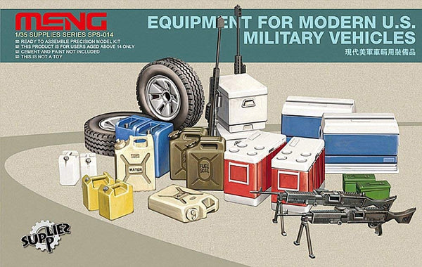 1/35 Equipment for Modern U.S. Military Vehicles (Meng)