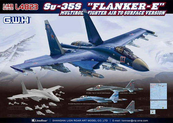 "Su-35S ""Flanker-E"" (Great Wall Hobby)"