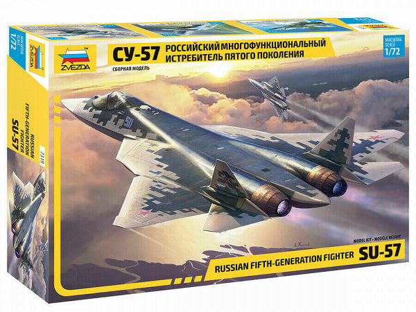 1/72 SU-57 Russian Fifth-Generation Fighter  (Zvezda)