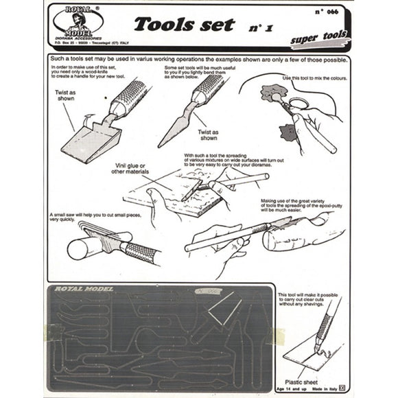 Tools Set No.1 (Royal Model)