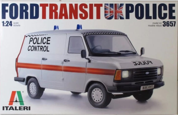Ford Transit UK Police (Italeri)