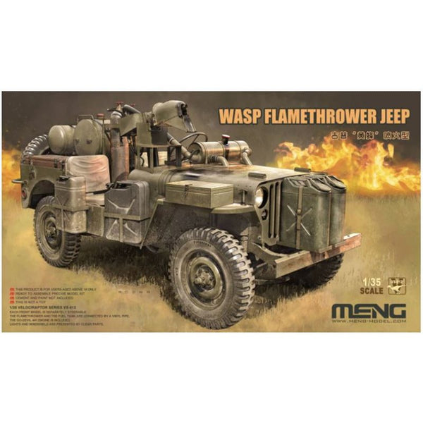 WASP Flamethrower Jeep (MENG)