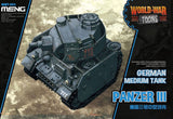 World War Toons - German Medium Tank Panzer III (Meng)