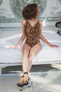 Leopard backout bodysuit - a.o.allure