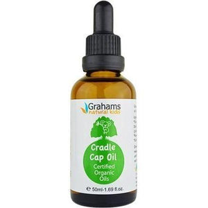 Organic Cradle Cap Oil Grahams Natural