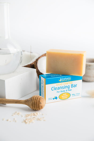 Natural Cleansing Bar for Body & Hair