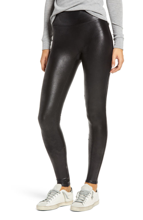 Faux Leather Leggings - Aceshin