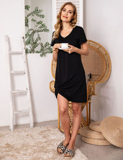 Lakewood Knot Hem Dress - Aceshin