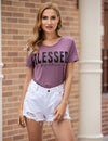 Ouachita Blessed Print T shirt