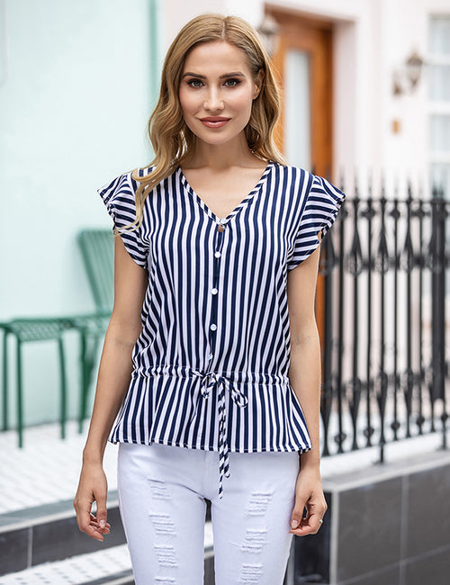 New York Savvy Striped Top