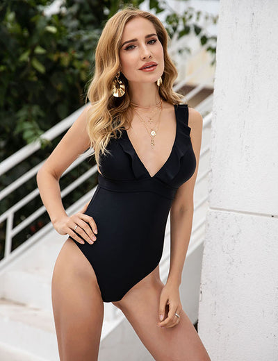 Oahu Island Swimsuit (Black)