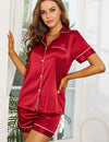 Trendy Cloisters Top and Shorts Pajama Set (PREMIUM QUALITY) - Aceshin