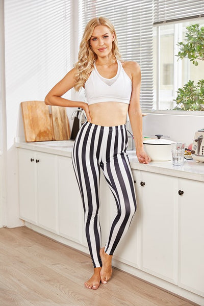 Hearst Zebra Print Leggings