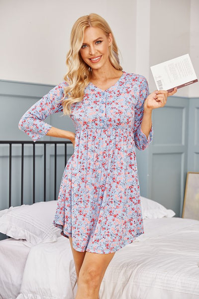 Salton Sea Floral Nightdress - Aceshin