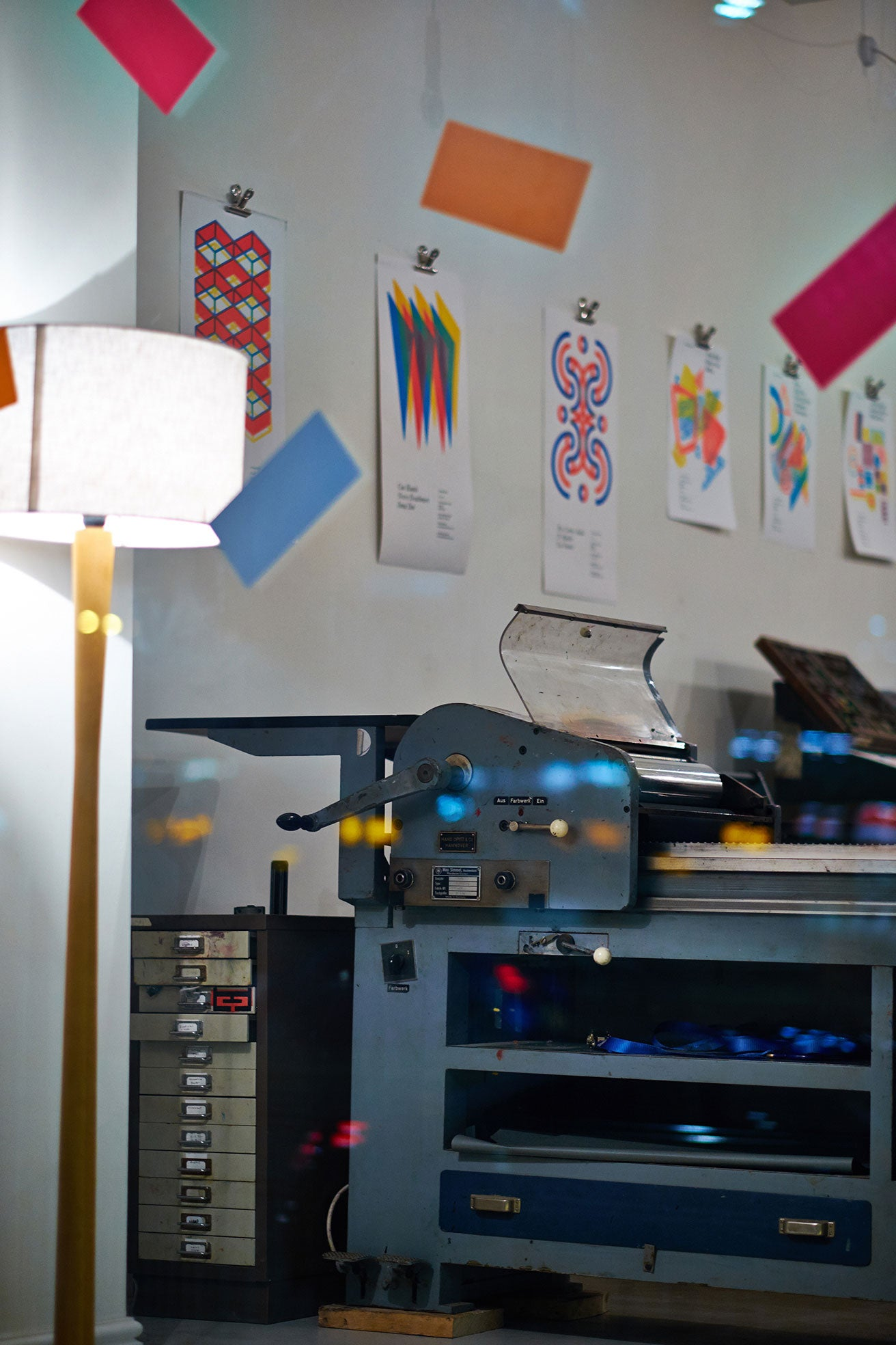 Letterpress studio by The Print Project