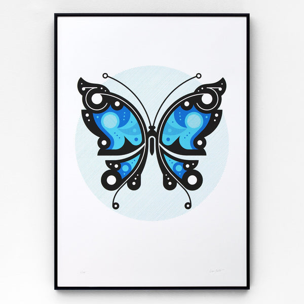 Butterfly #2 Screen Print