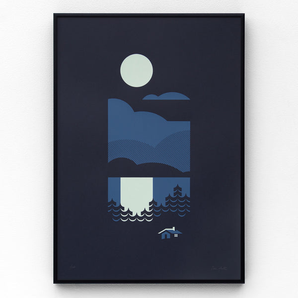 Cabin Screen Print