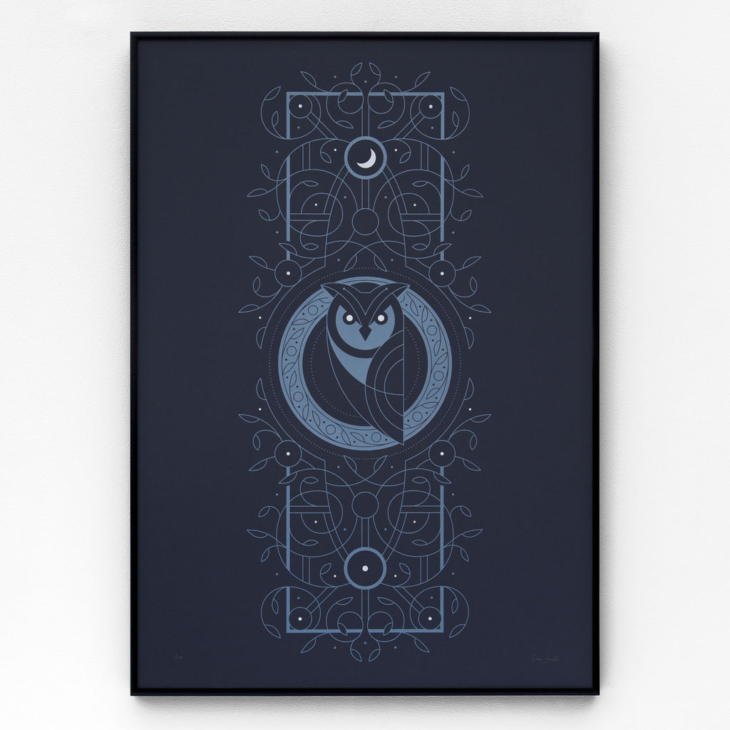 Night Owl Screen Print